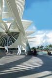 Museum av morgondagen (i morgon museum) i Rio de Janeiro, Brasilien Arkivfoton