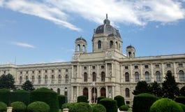 Museum av naturhistoria, museum av Art History, Wien, Österrike fotografering för bildbyråer