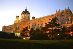 Museum av naturhistoria i Wien, Österrike Royaltyfri Fotografi