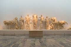 Museum av Olympia Arkivfoto