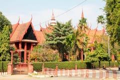 Museum av Phnom Penh Royaltyfria Bilder