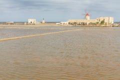 Museum av salt och salt träsk i Nubia Royaltyfri Foto