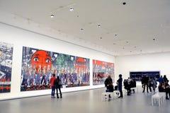 Museum av samtida konst av Louis Vuitton Foundation Arkivfoton