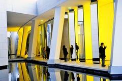 Museum av samtida konst av Louis Vuitton Foundation Arkivbild