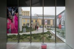 Museum av samtida konst i Krakow MOCAK fotografering för bildbyråer
