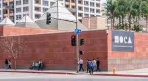 Museum av samtida konst i Los Angeles Moca - KALIFORNIEN, USA - MARS 18, 2019 arkivbild