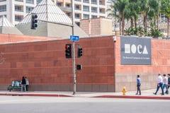Museum av samtida konst i Los Angeles Moca - KALIFORNIEN, USA - MARS 18, 2019 royaltyfri fotografi