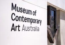 Museum av samtida konst i Sydney, Australien Royaltyfri Foto