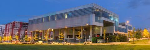 Museum av samtida konst i Zagreb Croatia arkivfoton