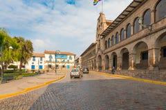 Museum av samtida konst av kommunen av Cusco royaltyfria foton