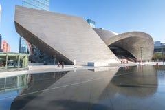 Museum av samtida konst- & planläggningsutställningen royaltyfri foto