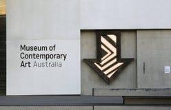 Museum av samtida konst, Sydney Royaltyfri Fotografi