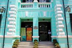 Museum av Taipa och Coloane historia, Macao, Kina arkivbild