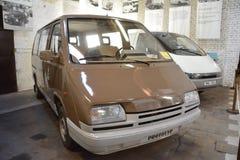 Museum av transport Bratislava - prototyp för MNA 900 Arkivbilder