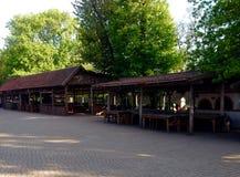 Museum av ukrainska cossacks Arkivbild