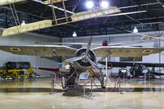 Museum of aviation in Istanbul is represented by a large collection of military civil aircraft and also the history of aviation in. ISTANBUL, TURKEY - 4 APRIL royalty free stock photos
