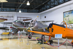 Museum of aviation in Istanbul Royalty Free Stock Photo