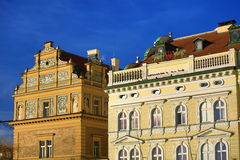 The Museum of Bed�ich Smetana, Old Building, Moldau, Lesser Town, Prague,  Czech Republic Royalty Free Stock Photos