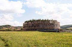 Museum bei Alesia in Burgunder, Frankreich Stockbilder