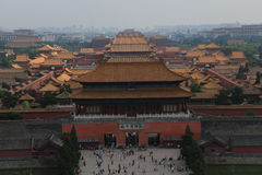 Museum of Beijing the Imperial Palace Stock Image
