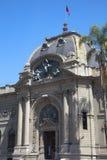 Museum of Bellas Artes, Santiago de Chile royalty free stock photography