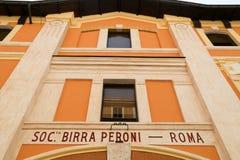 Museum Birra Peroni in Rom Stockfoto