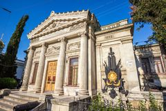 The museum of Black sea fleet of the Russian Federation in Sevas. Museum of Black sea fleet of the Russian Federation in Sevastopol Stock Photography
