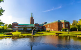 Museum Boijmans Van Beuningen i Rotterdam, fotografering för bildbyråer