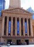 Ancient architecture of the Museum of Brisbane,Australia Stock Photo