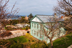 Museum building in Motomachi park, Hakodate Royalty Free Stock Image