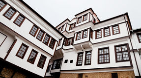 Museum building in ohrid. Museum building in The town of Ohrid Macedonia stock photo