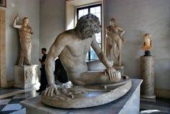 Museum Capitoline in Rom, Italien Stockbilder