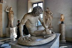 Museum Capitoline in Rome, Italy Stock Images