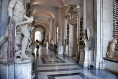 Museum Capitoline, Rome Italy Royalty Free Stock Photos