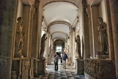 Rooms in Museum Capitoline Royalty Free Stock Image