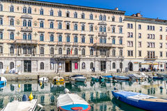Museum of Carlo Schmidl in Trieste Stock Image