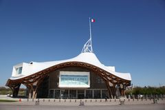 Museum Centre Pompidou in Metz, France Royalty Free Stock Images