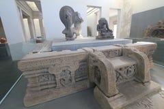 Museum of Cham Sculpture in Da Nang Stock Image