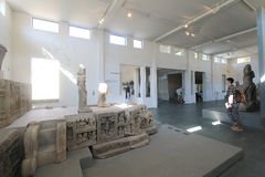 Museum of Cham Sculpture in Da Nang Stock Photo