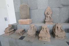 Museum of Cham Sculpture in Da Nang Stock Images
