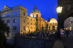 Museum of Charles Bridge in Prague. Stock Photos