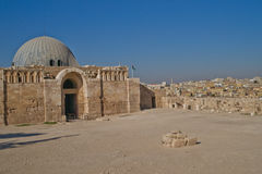 Museum at Citadel in Amman, Jordan Royalty Free Stock Photography