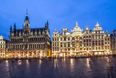 Museum of the City of Brussels - The Broodhuis Maison du Roi, Royalty Free Stock Image