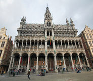 Museum of the City at Grand Place in Brussels Stock Photos