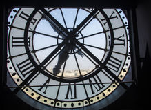 Museum Clock in Paris Royalty Free Stock Photos