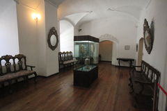 Museum of coins, mint, Potosi Bolivia Stock Image