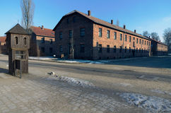Museum  of concentration camp Auschwitz,Poland Stock Photo