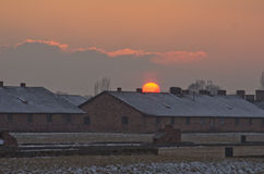 Museum  of concentration campe Auschwitz,Poland Stock Image