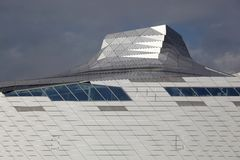 Museum of Confluences in Lyon Stock Image