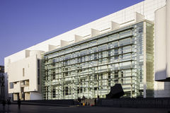 Museum of contemporary art in Barcelona, spain Royalty Free Stock Photo